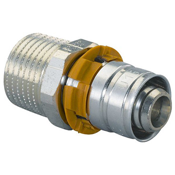 "Штуцер UPONOR S -PRESS  НР  16 х  3/4 "" (уп 10 шт) (1014534)"